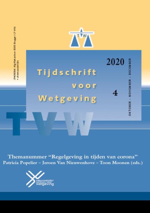 Tijdschrift voor Wetgeving - TVW (jaargang 2021)