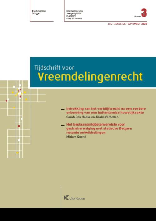 Tijdschrift voor Vreemdelingenrecht (T.Vreemd.) jaargang 2021