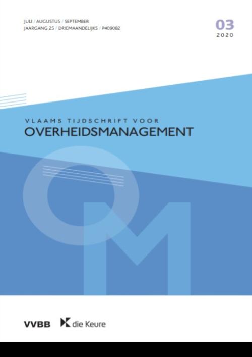 Vlaams Tijdschrift voor Overheidsmanagement - VTOM (jaargang 2021)
