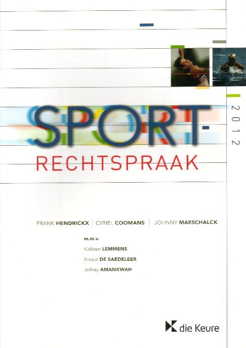 Sportrechtspraak 2012