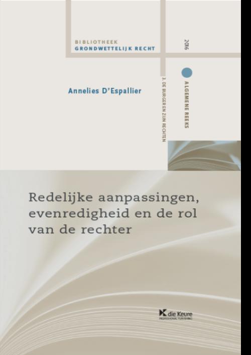 Redelijke aanpassingen, evenredigheid en rol van de rechter