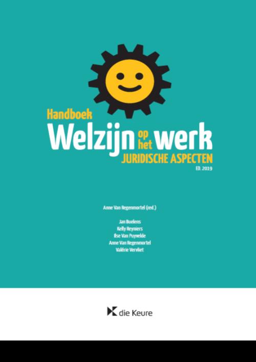 Handboek welzijn op het werk (editie 2019 - softcover)