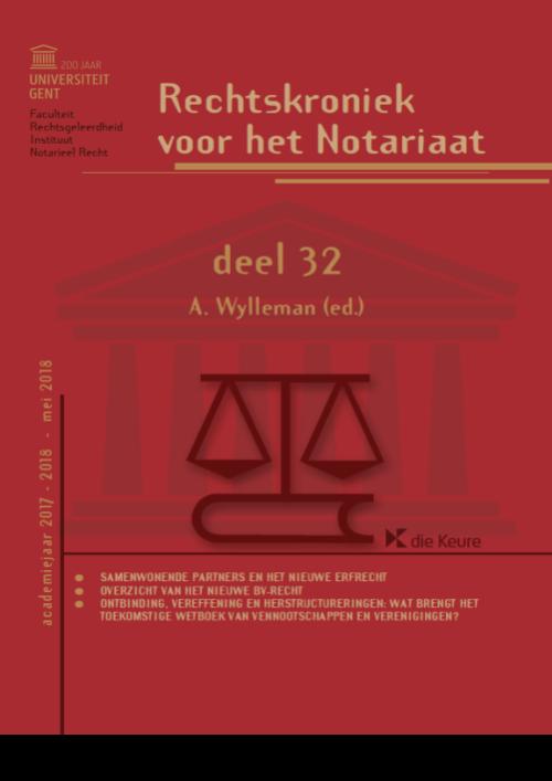 Rechtskroniek voor het Notariaat deel 32
