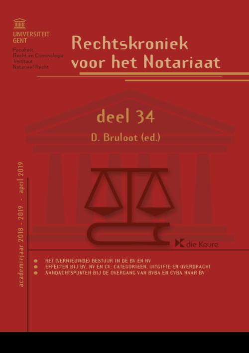 Rechtskroniek voor het Notariaat deel 34