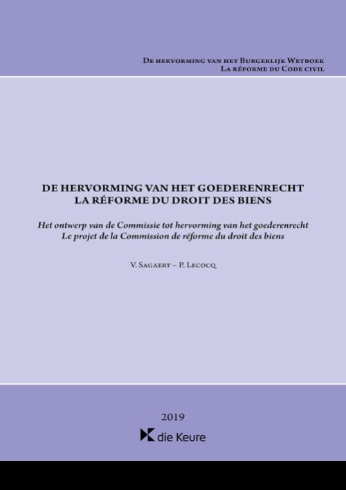 De hervorming van het goederenrecht