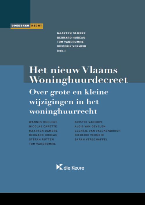 Het nieuw Vlaams Woninghuurdecreet