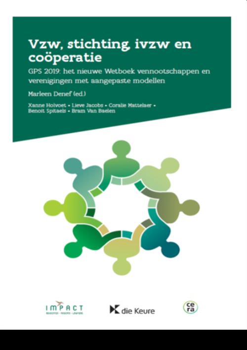 Vzw, stichting, ivzw en coöperatie (3e editie)