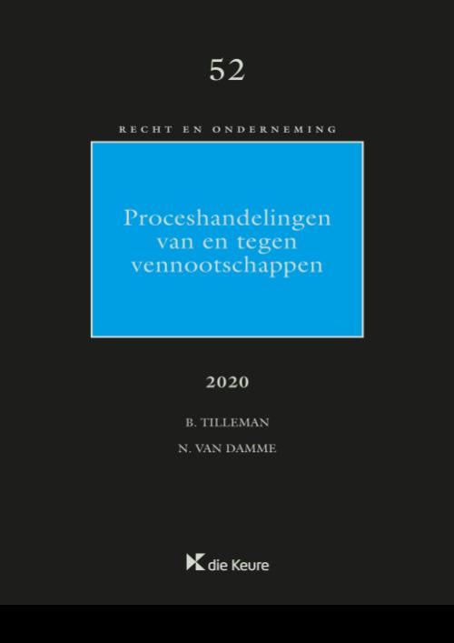 Proceshandelingen van en tegen vennootschappen