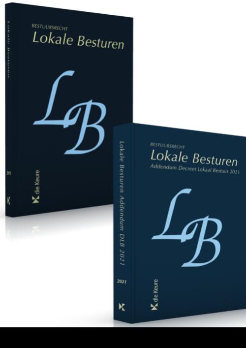 Pakket Geannoteerd Wetboek Lokale Besturen + addendum Decreet Lokaal Bestuur 2021