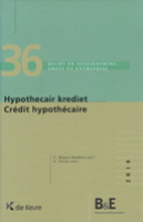 Hypothecair krediet/ Credit hypothecaire