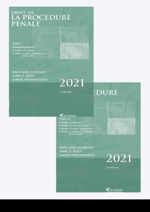 Droit de la procédure pénale 2021 (9e éd.)