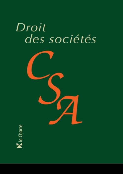 Droit des Sociétés annoté 2020-2021