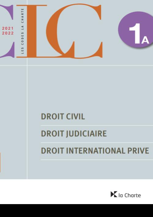 CLC 1A - Droit civil / droit judiciaire / droit international privé 2021-2022
