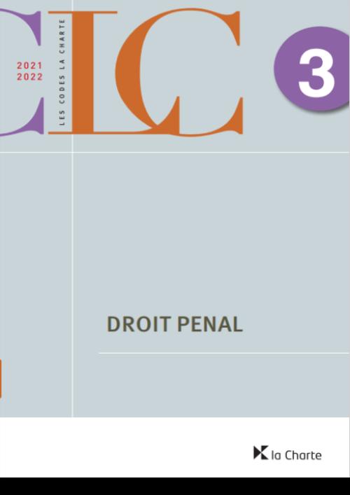 CLC 3 - Droit pénal 2021-2022